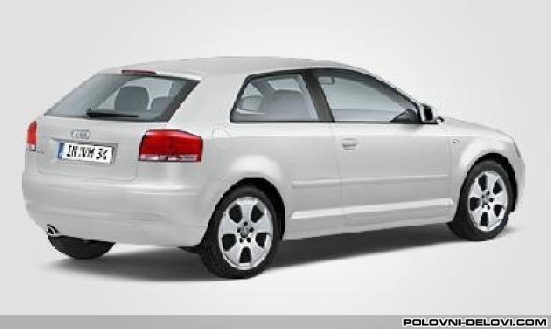 Delovi Audi A3 3vrata4vrata Kompletan Auto U Delovima