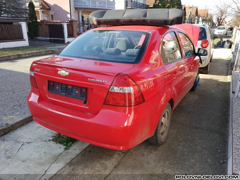 Delovi Chevrolet Aveo 12 16v Kompletan Auto U Delovima