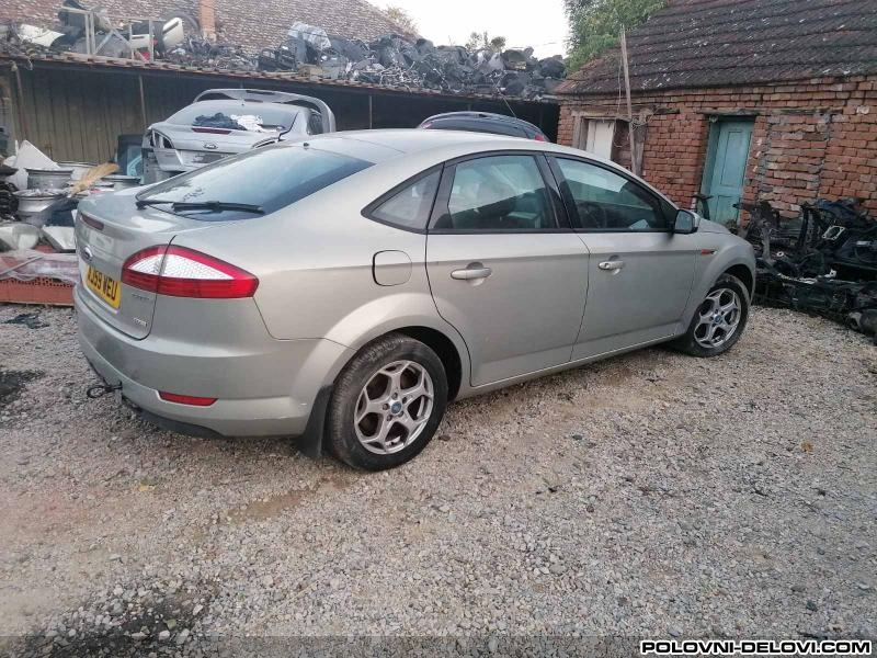 Ford  Mondeo Mk4 1.8 2. 0 Tdci Audio